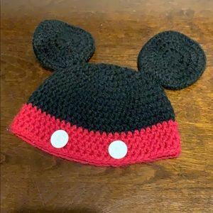 Mickey Mouse knit beanie hat